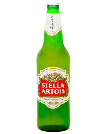 Stella Artois Bottle 660ml Bottle #99465.