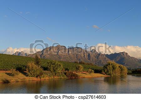 Stock Photography of Stellenbosch.
