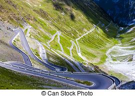 Stock Photo of Stelvio Pass.