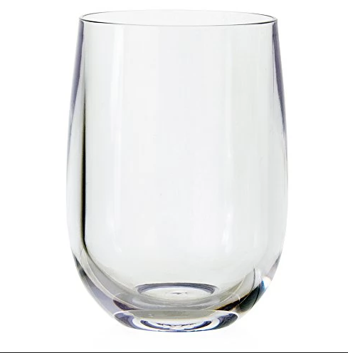 14oz Stemless Wine Glass.