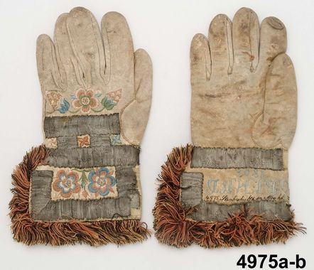 Handskar Produktion 1806 Brukningsort: Sverige (SE) Småland Allbo.