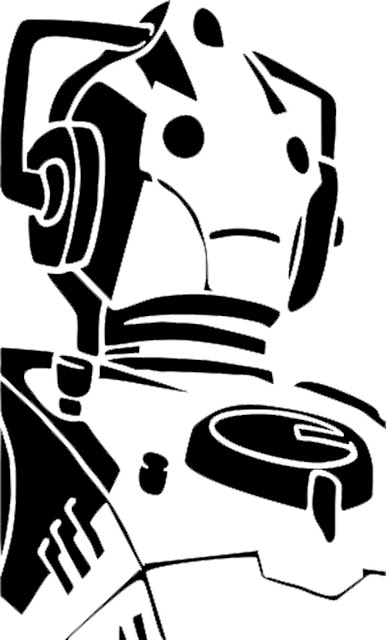 Doodlecraft: Doctor Who Stencil Silhouette Outline Clipart Mania!.