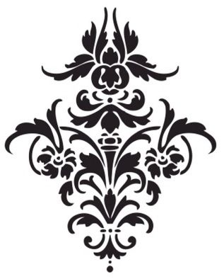 1000+ ideas about Damask Stencil on Pinterest.