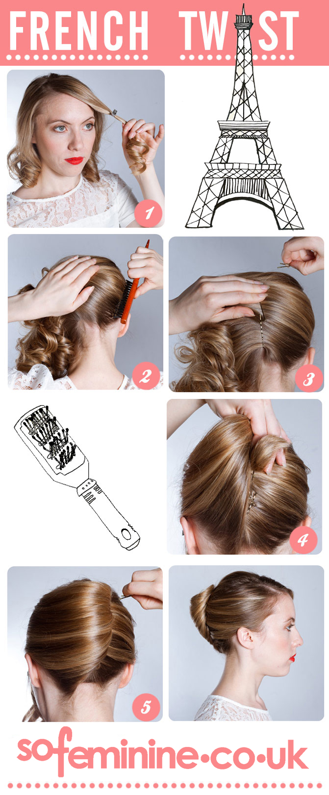 How to do a French Twist.