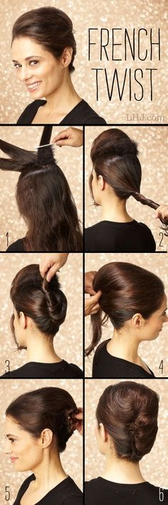 25+ best ideas about French Roll Updo on Pinterest.