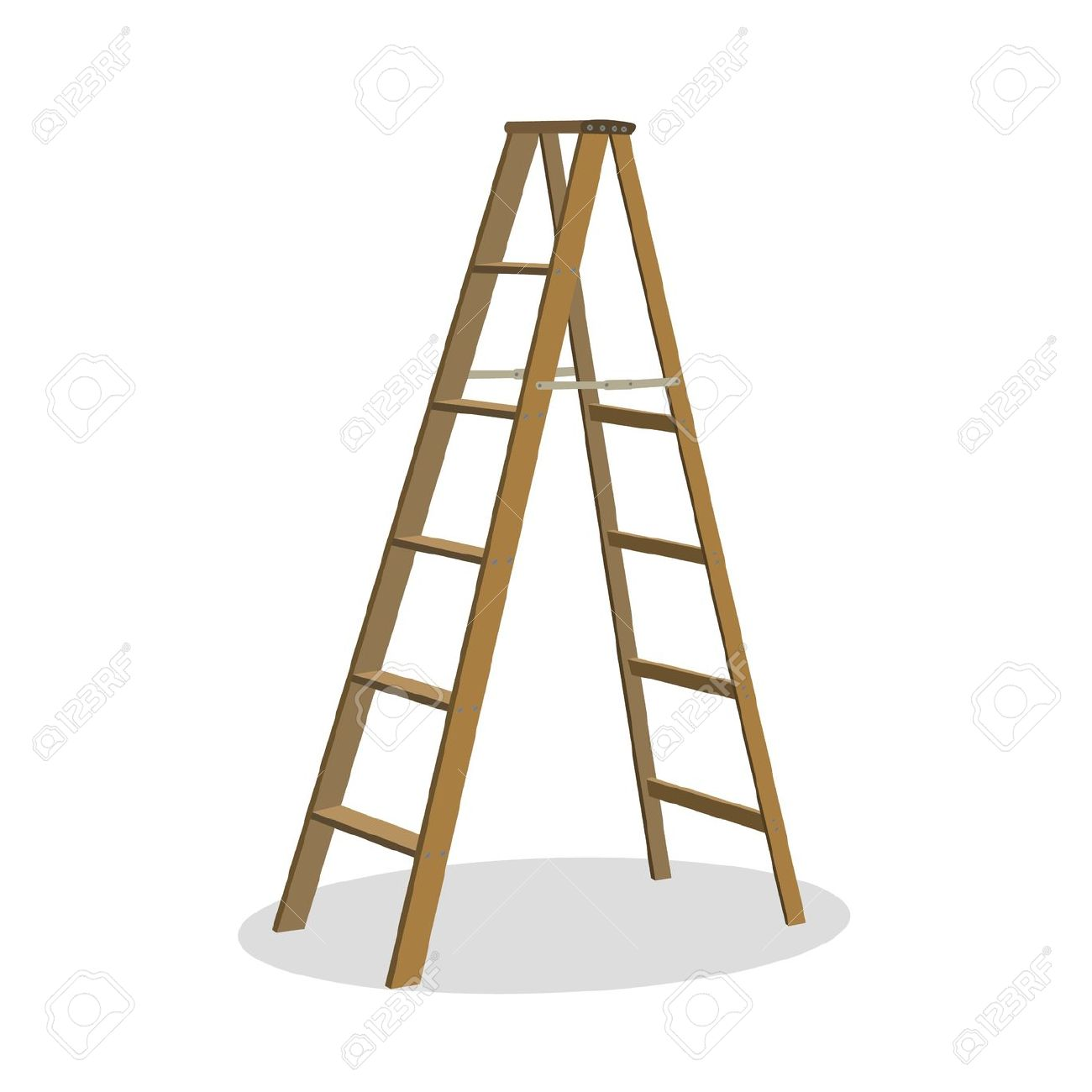 1,296 Stepladder Stock Vector Illustration And Royalty Free.