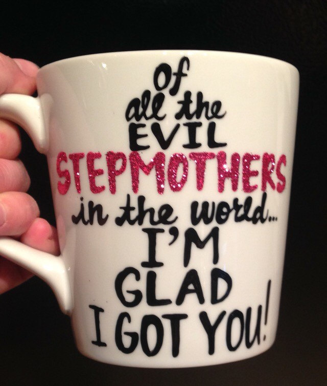 Step Mom Mothers Day Clipart.