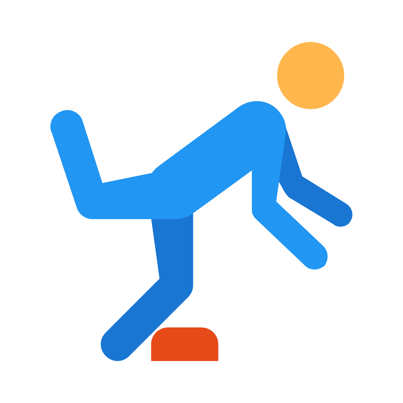 Watch Your Step Icon.