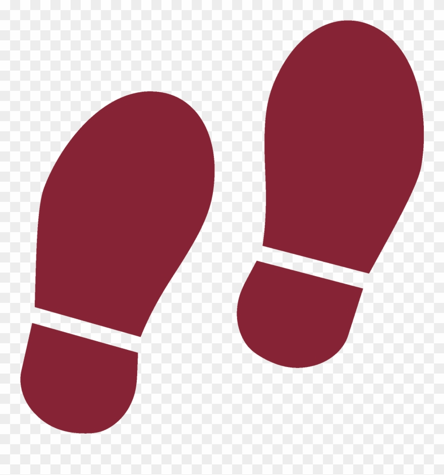 Shoe Prints Icon.