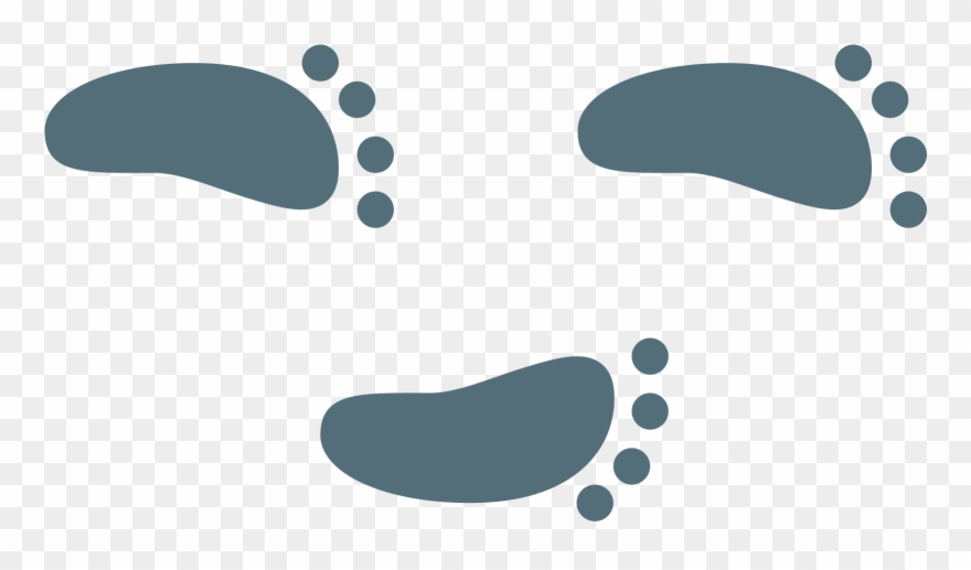 Steps Vector Foot Mark Clipart Freeuse Stock.
