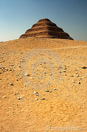 Ancient Step Pyramid Of Djoser (Zoser) Royalty Free Stock.
