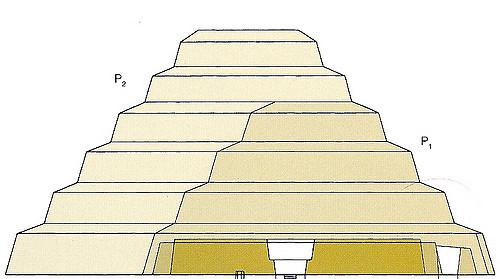 Saqqara Step Pyramid.