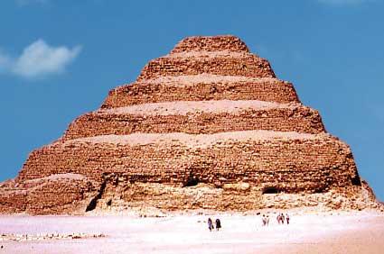 Step Pyramid at Saqqara King Djoser 2667.