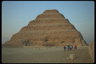 Pyramid of Djoser (Zoser).