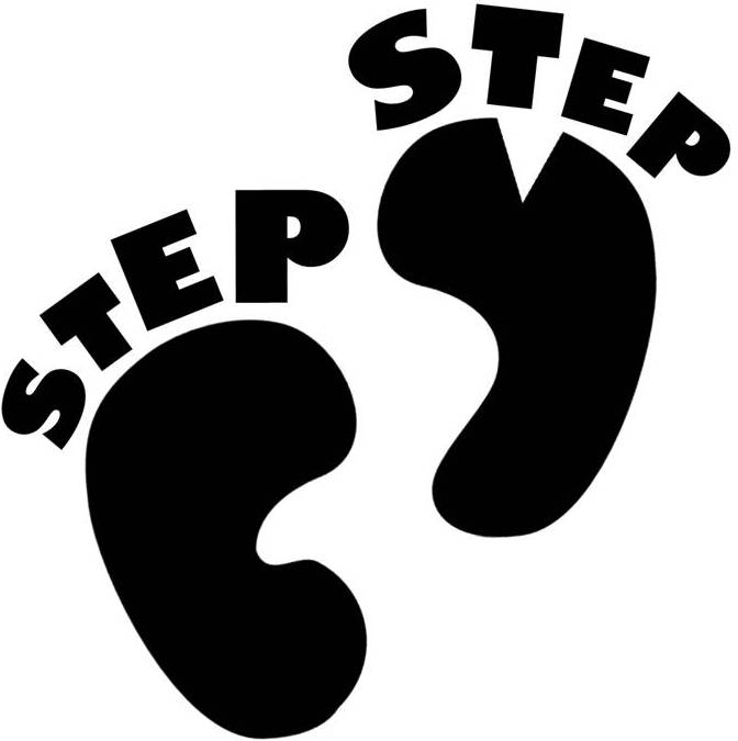 Step team clipart.