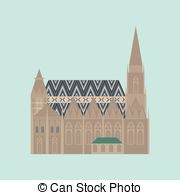 Stephansdom Clipart Vector Graphics. 15 Stephansdom EPS clip art.