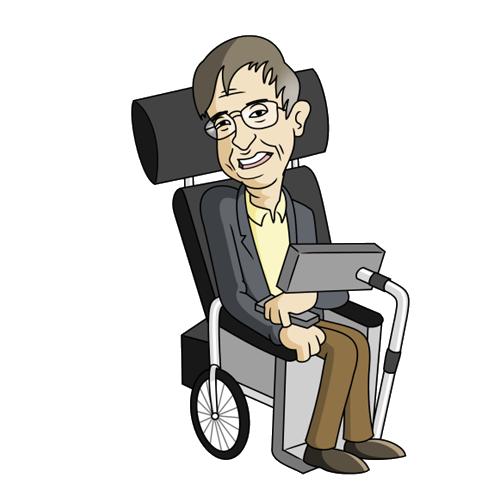 Free Stephen Hawking Clip Art.