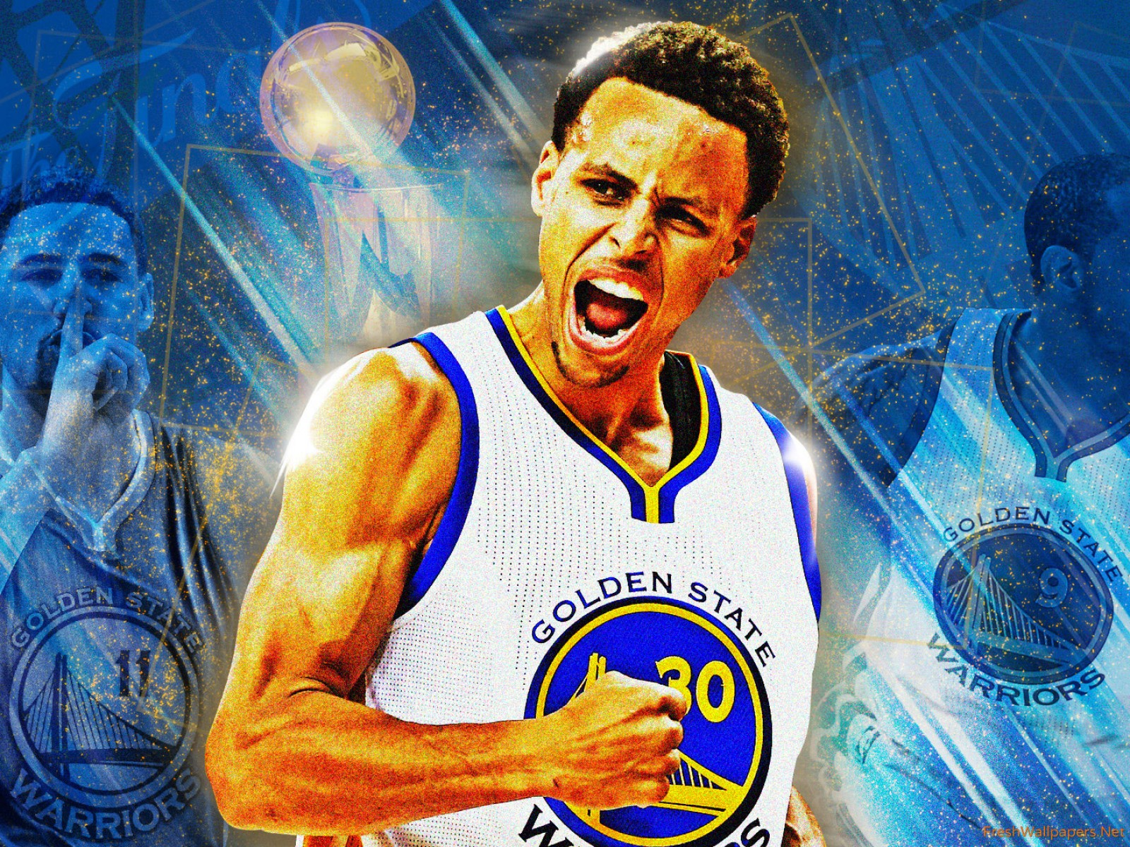 Stephen curry warriors clipart.