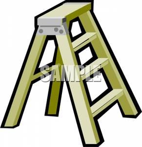 Art Image: A Step Ladder.