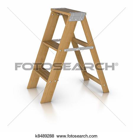 Stock Illustration of Step ladder k8489288.