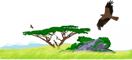 Steppe Clip Art Download.