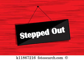 Stepping out Stock Illustrations. 45 stepping out clip art images.