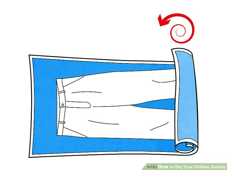 3 Ways to Dry Your Clothes Quickly.