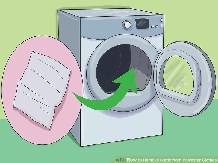 3 Ways to Remove Static from Polyester Clothes.