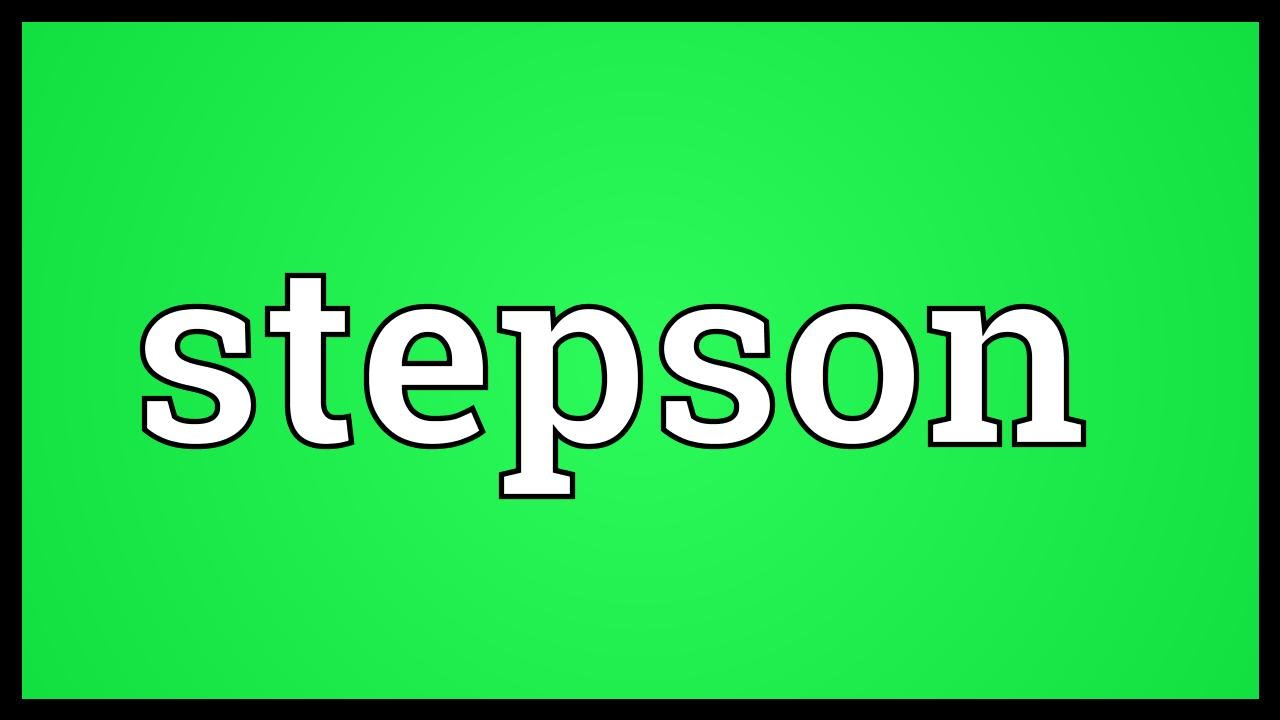 Stepson Meaning.