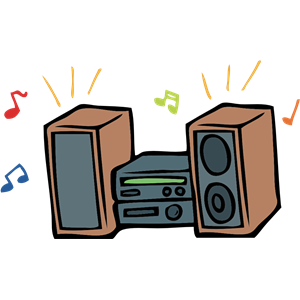 Stereo clipart, cliparts of Stereo free download (wmf, eps.