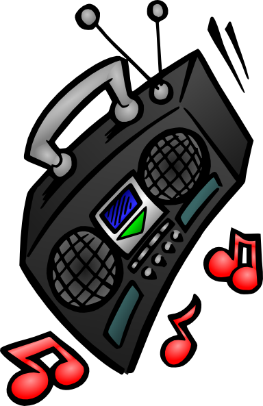 Old Stereo Clip Art at Clker.com.