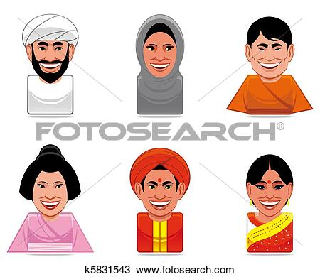 Stereotypical Illustrations and Stock Art. 248 stereotypical.