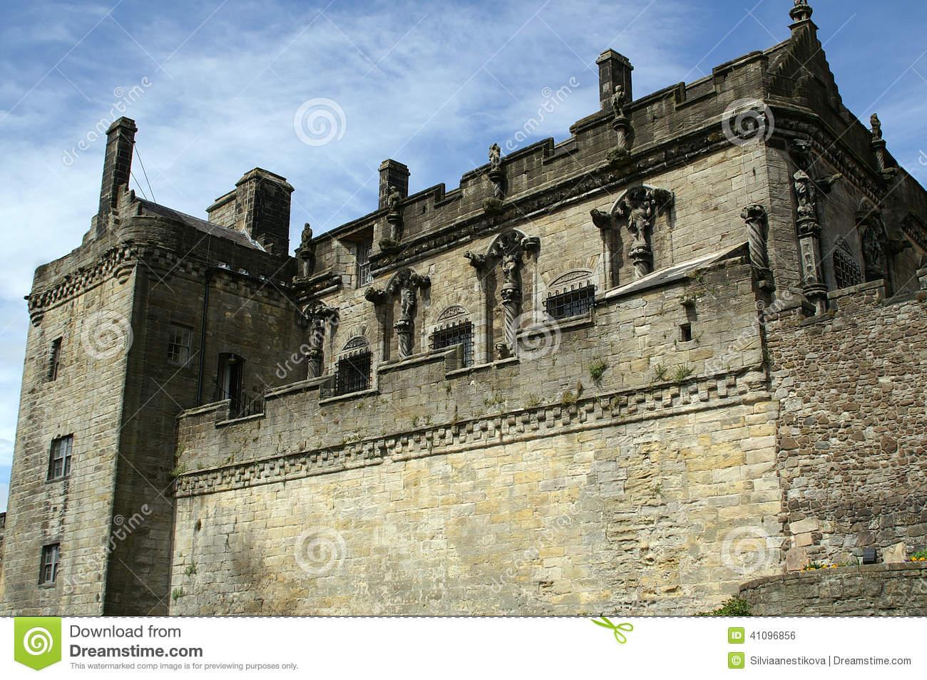 Stirling Castle, Scotland Stock Photo.