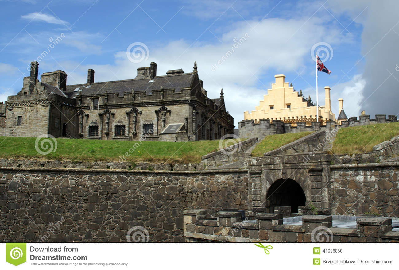 Great Hall At Stirling Castle In Scotland Royalty Free Stock.