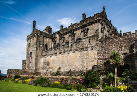 Stirling Castle Stock Photos, Royalty.