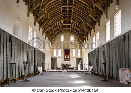Stock Images of interior of Stirling Castle, Scotland csp14488154.