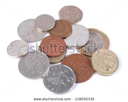 English Money Stock Images, Royalty.