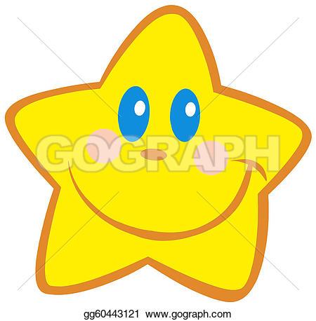 Starry Eyed Clip Art.