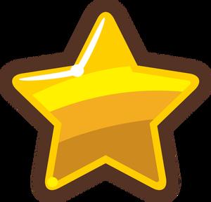 587 Sterne kostenlose clipart.