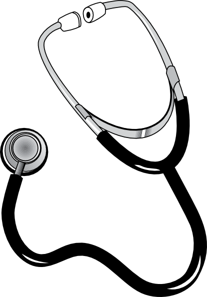 Stethoscope Clipart.