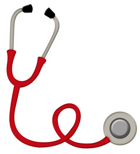 Kids stethoscope clipart.