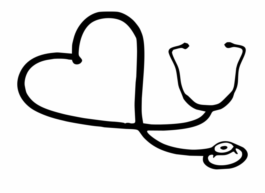Stethoscope Black And White Free PNG Images & Clipart.