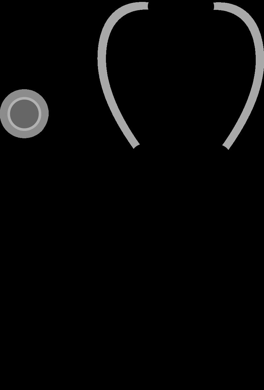 Stethoscope Clip Art Free Vector.