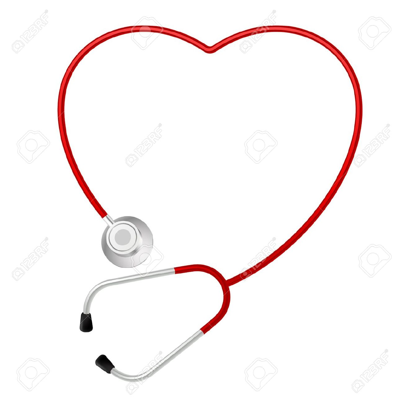 16,106 Stethoscope Heart Stock Vector Illustration And Royalty.