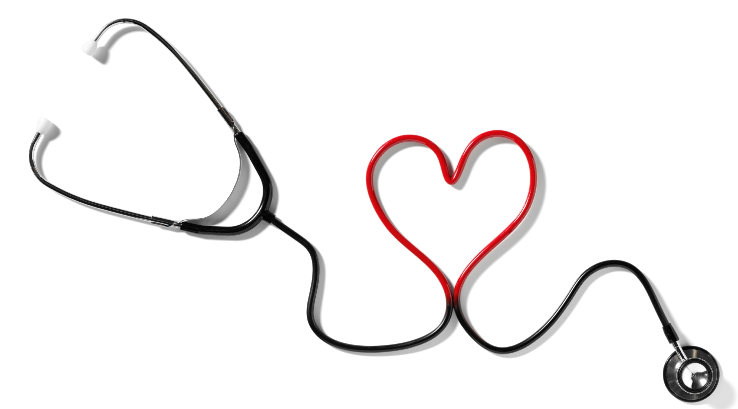 Stethoscope heart clipart 3.
