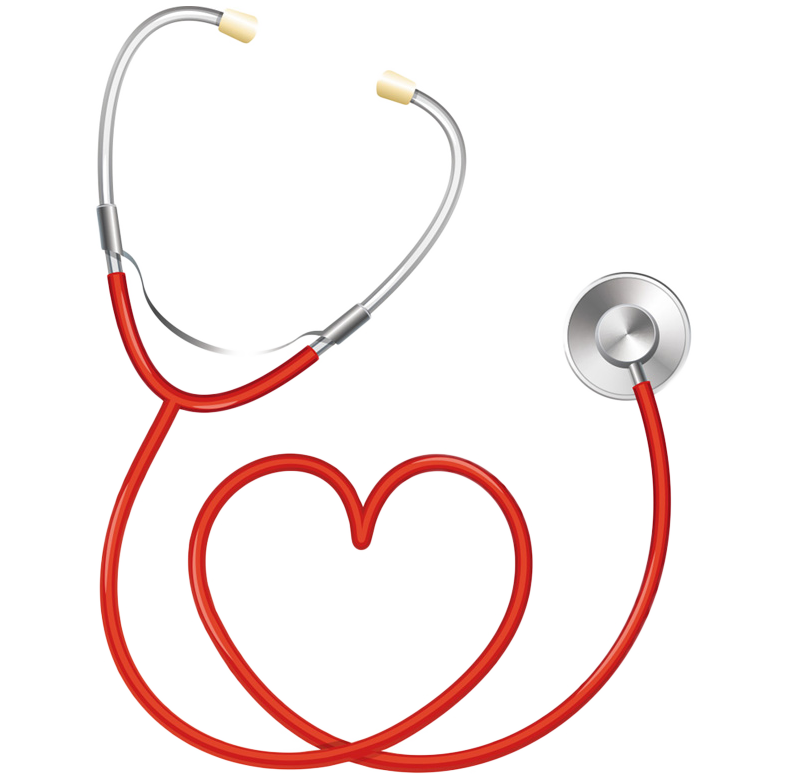 Stethoscope Heart Medicine Pulse.