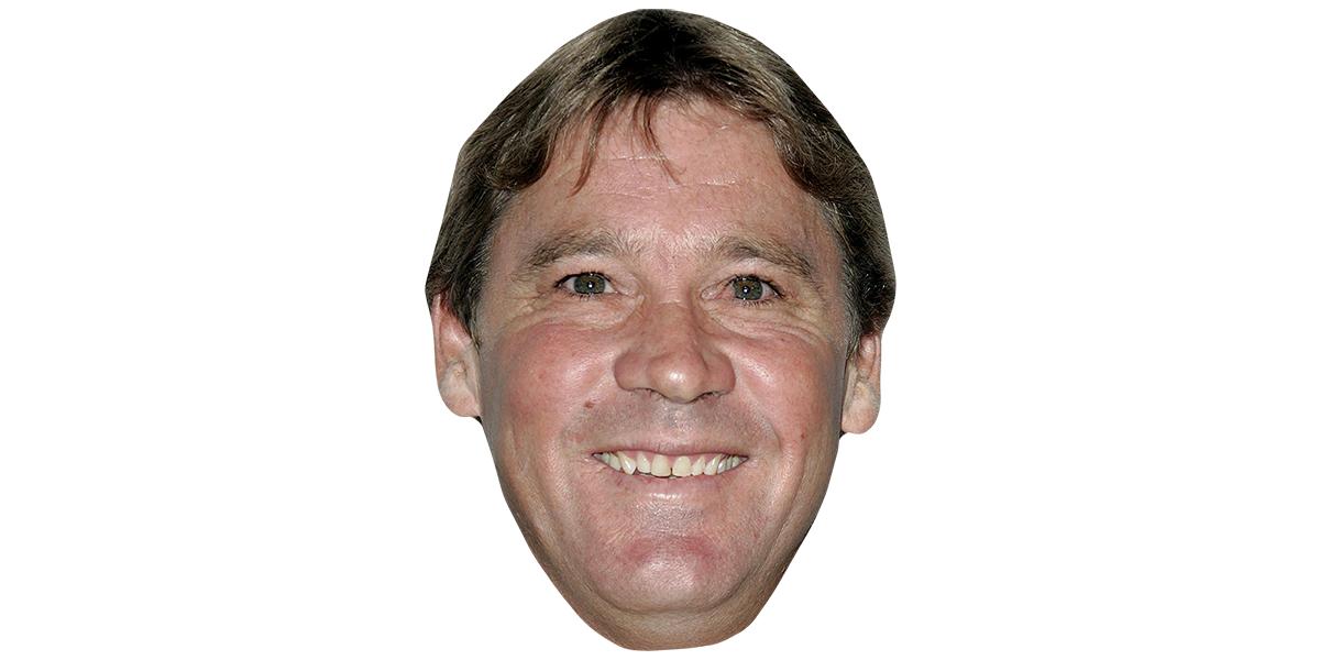 Steve Irwin Celebrity Mask.