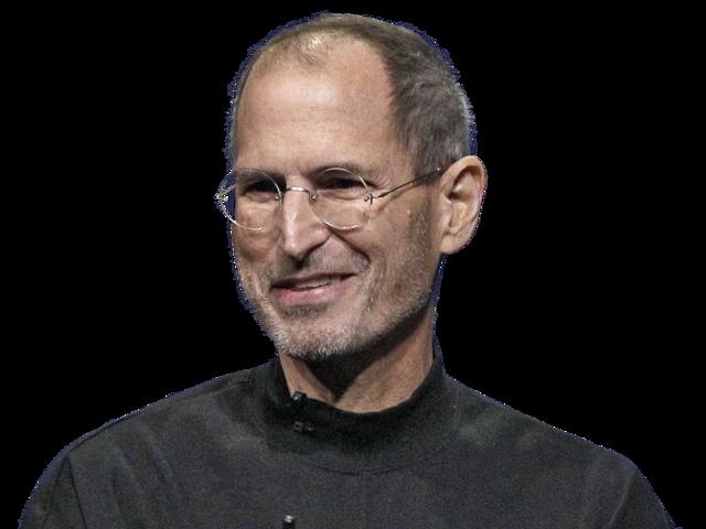 Steve Jobs PNG Transparent Images.
