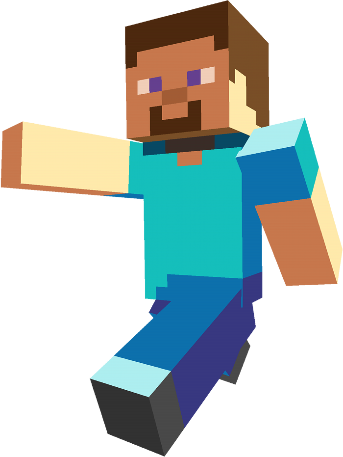 Download Free png Steve (Minecraft).png.