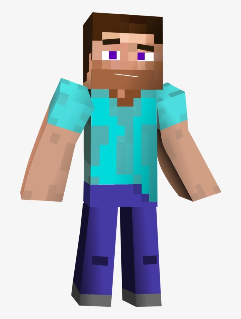 Minecraft Steve 3d Png.